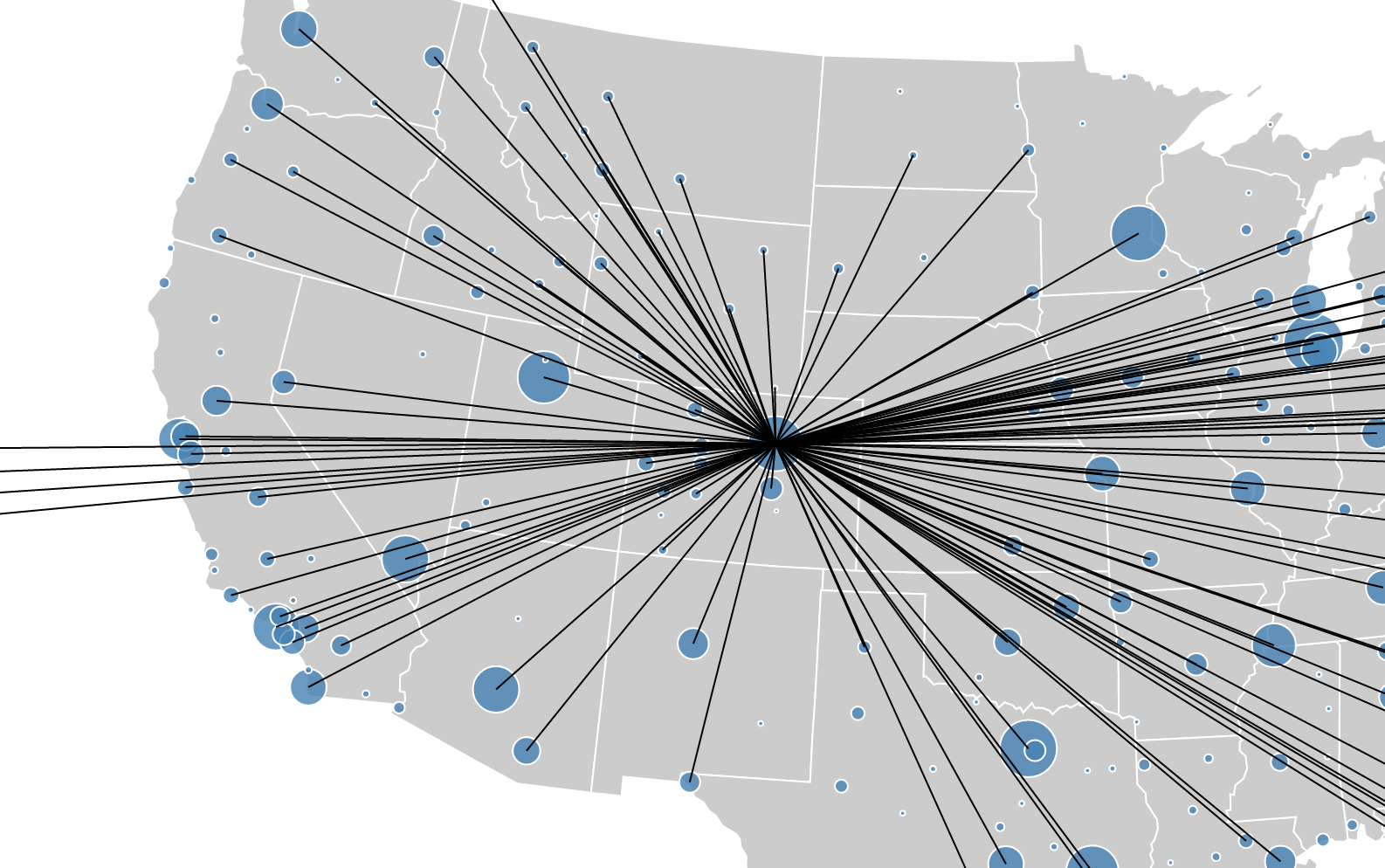 Big Data Visualisation In The Browser Using Elasticsearch Pandas - D3 us map filter